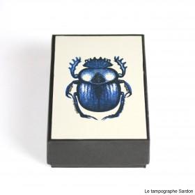 Scarabée sacré - Sacred beetle.
