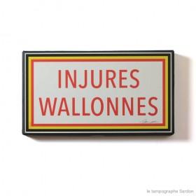 Injures Wallonnes