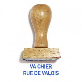 Va chier rue de Valois